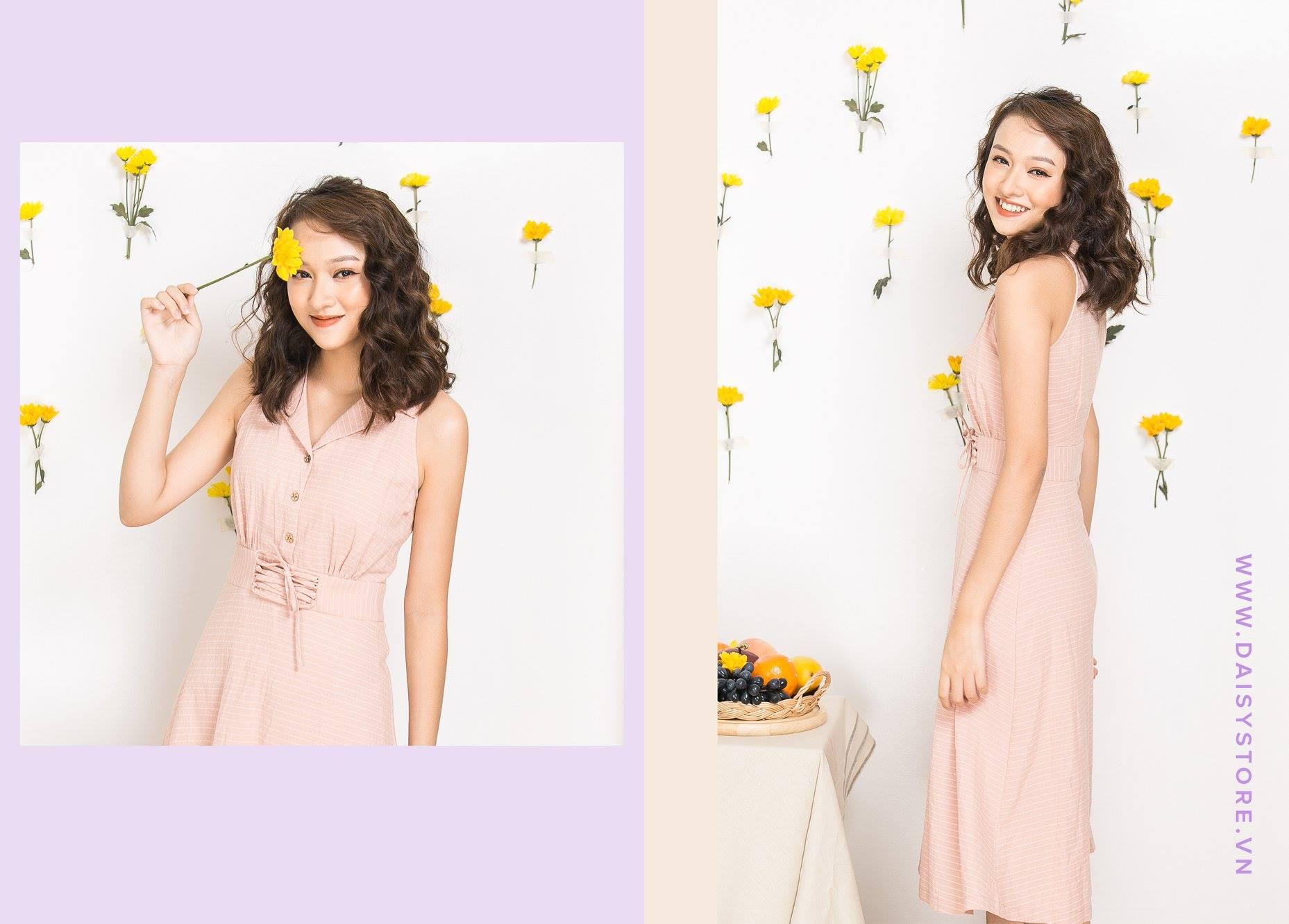 Bộ ảnh lookbook của Daisy tại Tròn