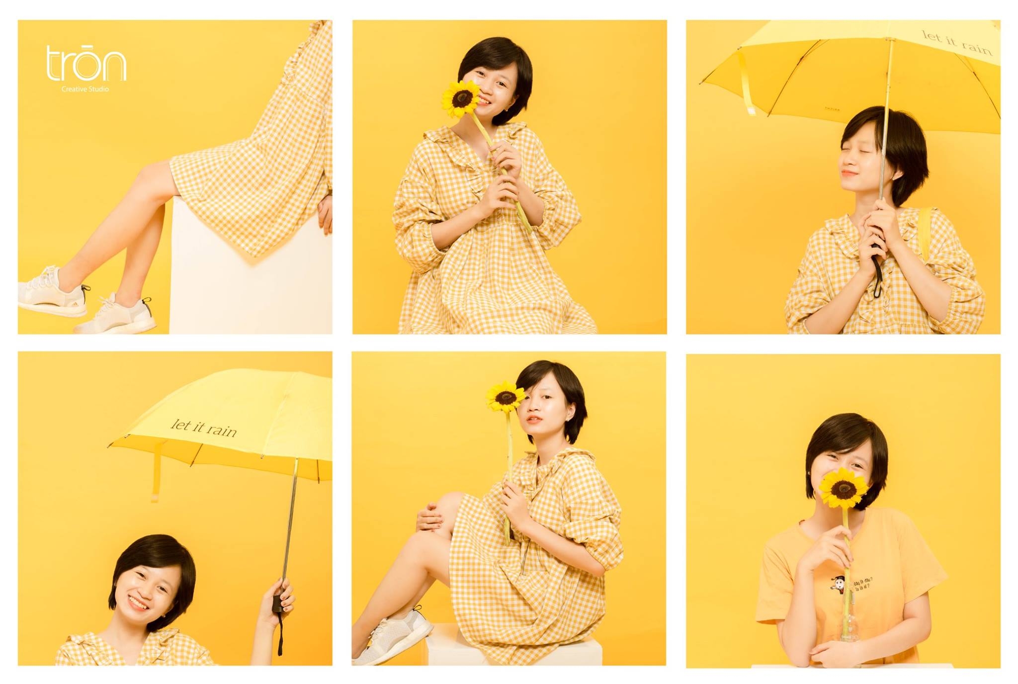 Copcept chụp beauty yellow-girl